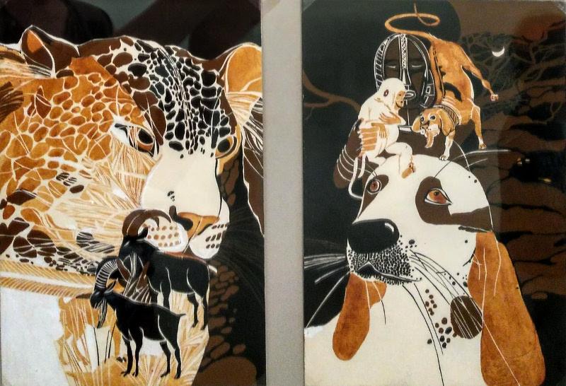 Rimos Mačiulytės iliustracijos Afrikos pasakoms