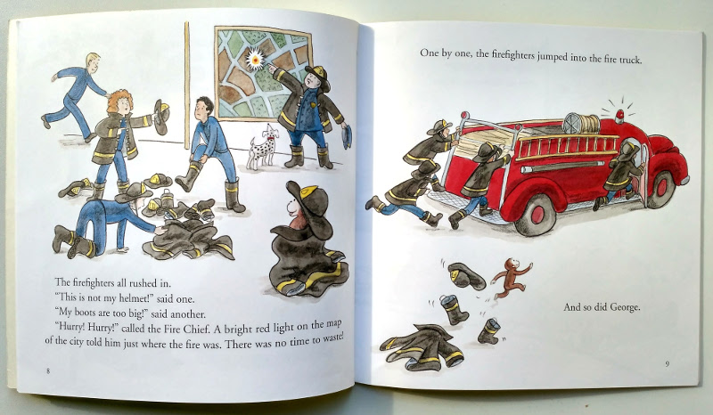 Curious George and the Firefighters. Houghton Mifflin Harcourt, 2010