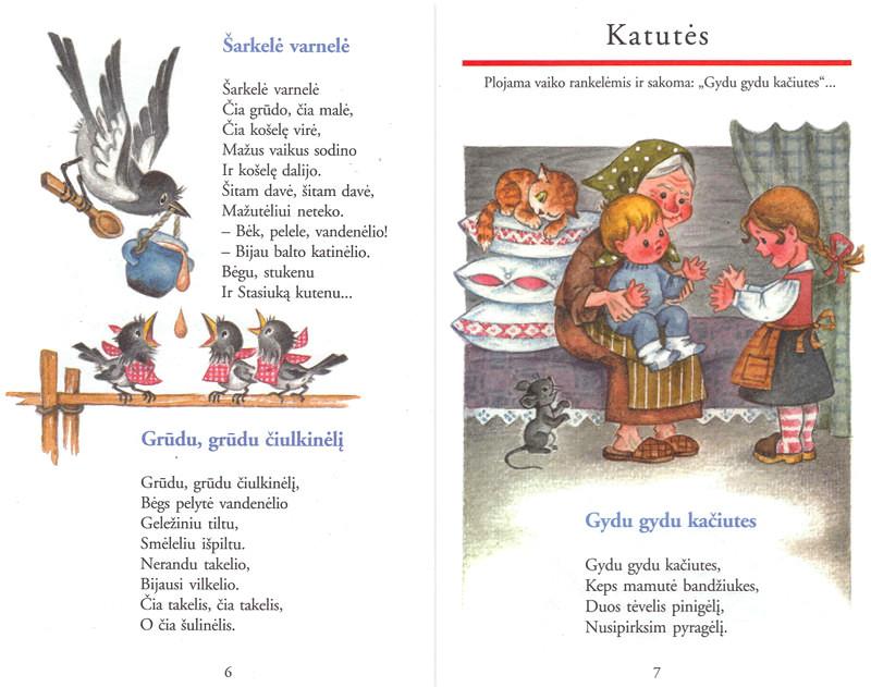 """Knygos """"Bitė ritė baltaragė"""" (Gimtasis žodis, 2004) atvartas"""
